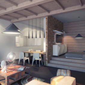 studio en style loft photo design