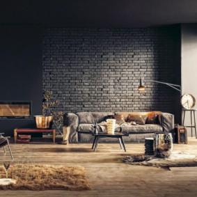studio dans le style loft photo