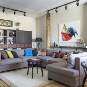 studio dans un design photo de style loft