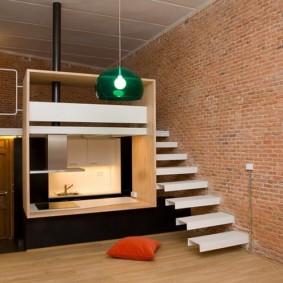 studio dans les espèces de photos de style loft
