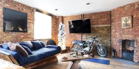 studio dans les vues de photo de style loft