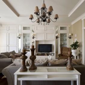 Grand salon de style provençal