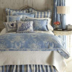 Chambre en appartement de style Provence