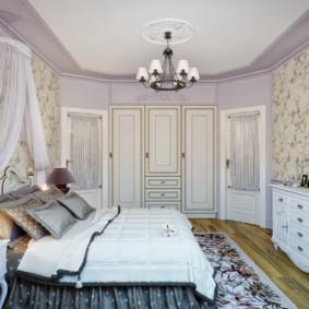 Chambre rustique spacieuse