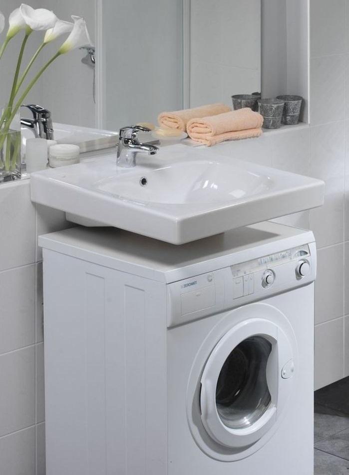 Hoe Een Wasmachine In De Badkamer Te Verbergen Plaatsing In Een Kleine Badkamer Foto