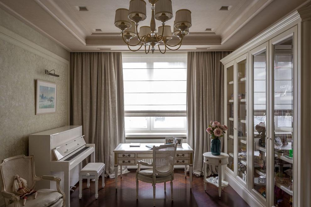 rèm cửa hiện đại ý tưởng thiết kế cổ điển
