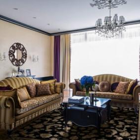 rèm cửa tùy chọn nội thất cổ điển hiện đại