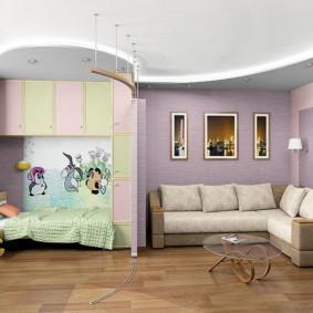 combinaison de salon et de décoration pour enfants