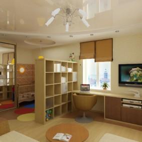 combinaison d'idées de salon et de design pour enfants