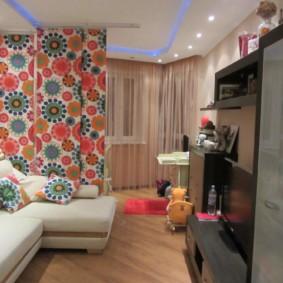 combinaison de salon et de décoration photo pour enfants