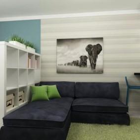 combinaison d'espaces photo pour le salon et les enfants