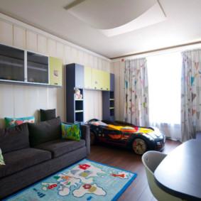 combinaison de salon et d'idées pour enfants
