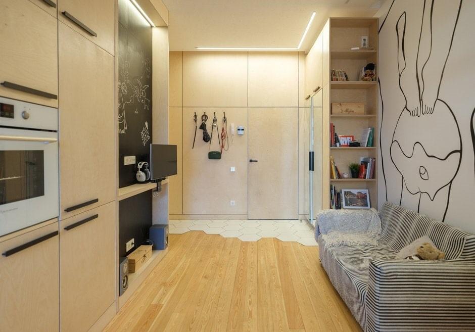 Studio dans un style moderne