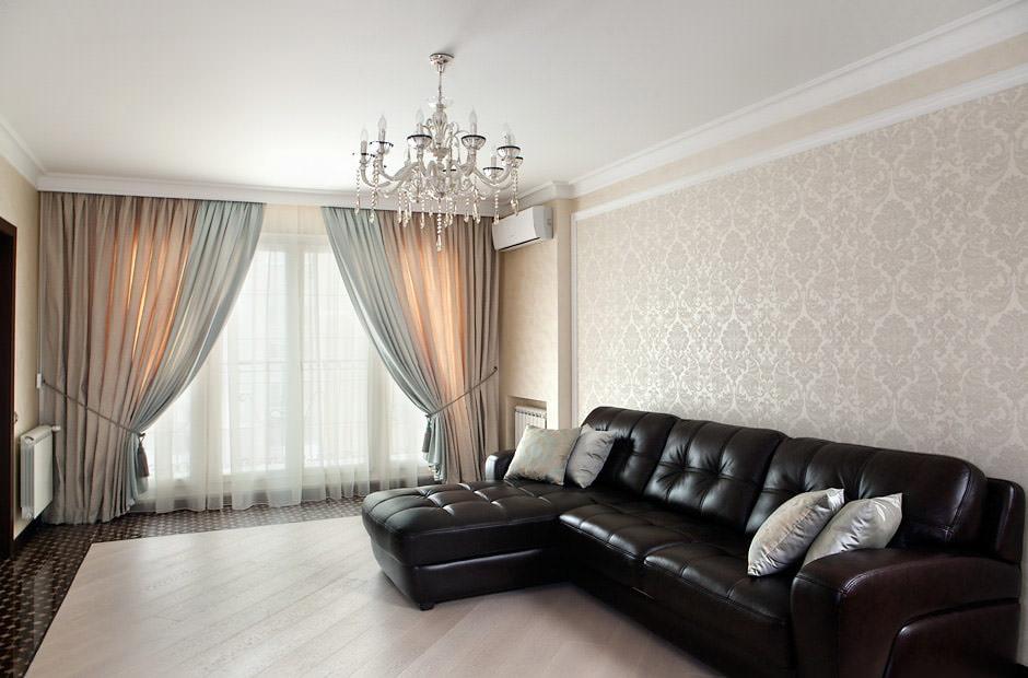 rèm cửa hình ảnh nội thất cổ điển hiện đại