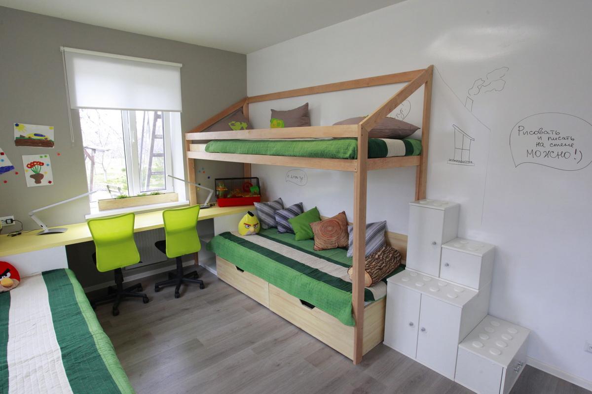 chambre 8 m² pour enfants