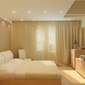 chambre 8 m² vue intérieure