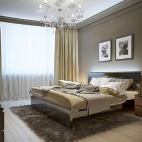 Photo de décoration de chambre beige