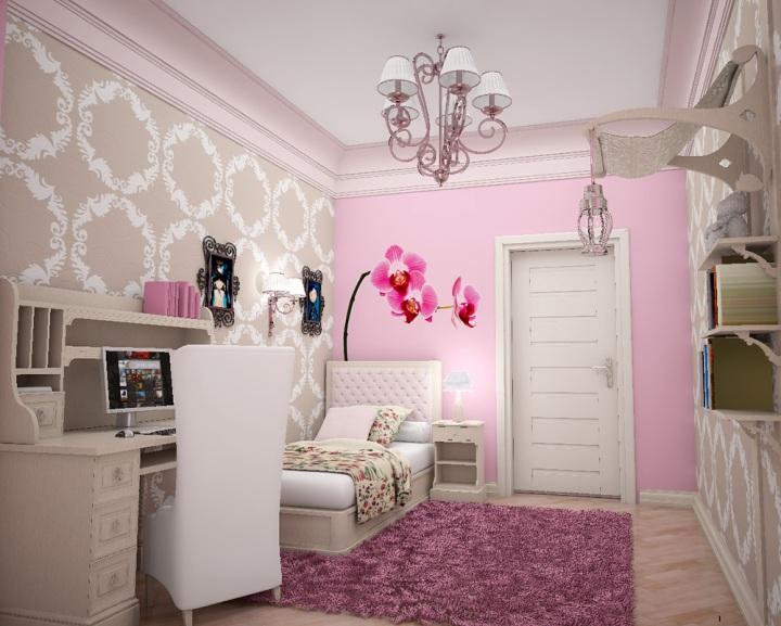 photo de conception de chambre beige