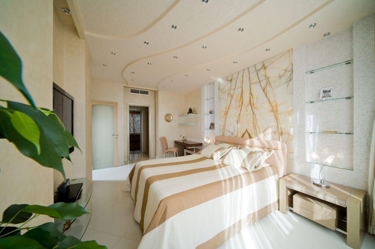 intérieur de la chambre beige