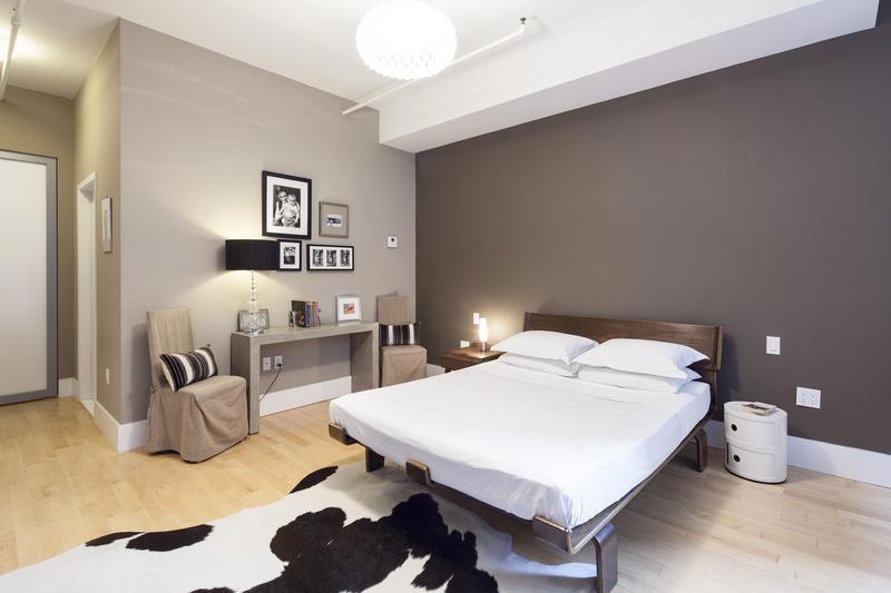 chambre aux couleurs beiges