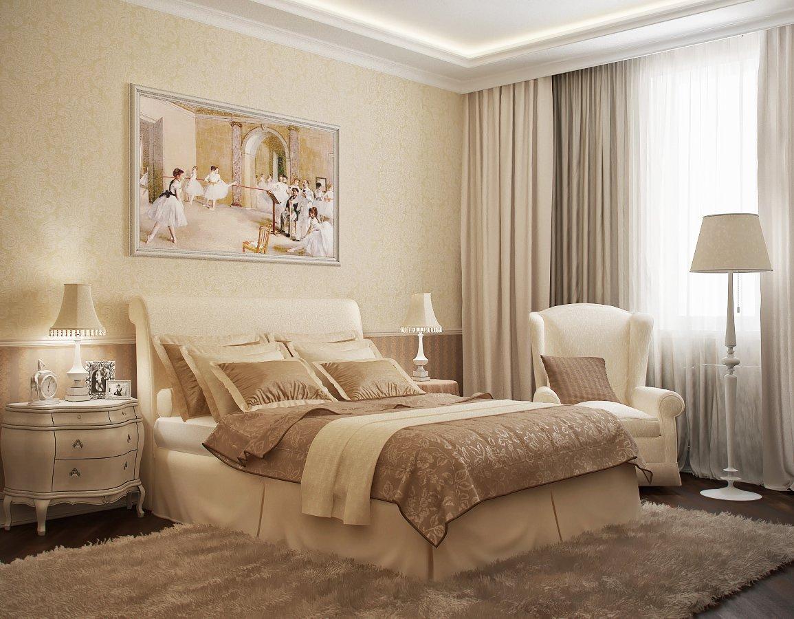 photo de décoration de chambre classique