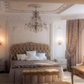 photo de conception de chambre classique