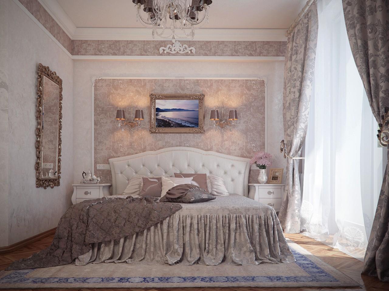 conception de chambre classique