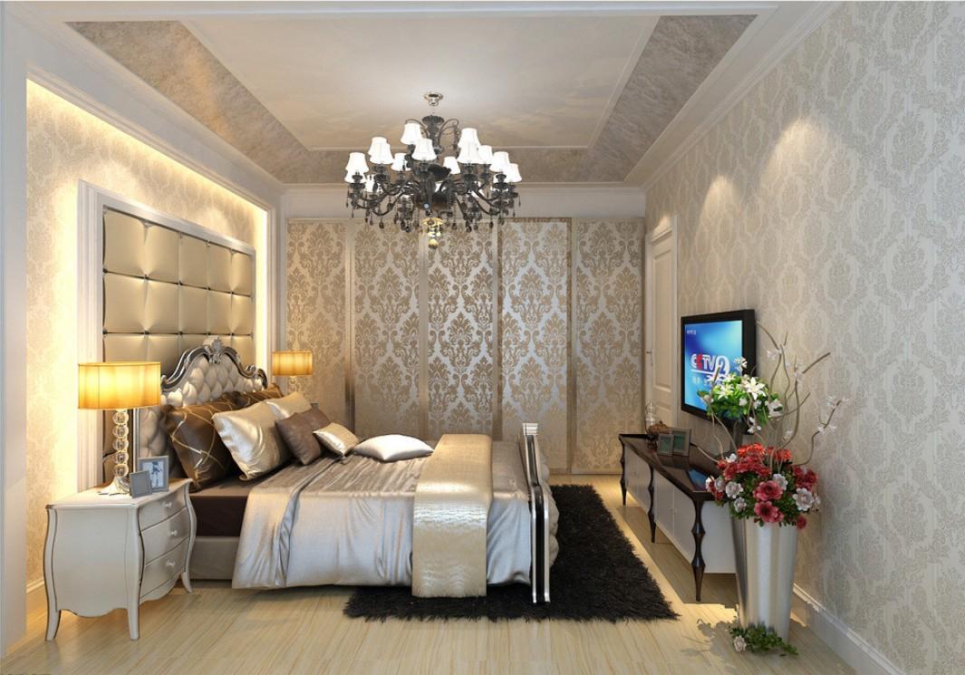 photo de conception de chambre de style classique