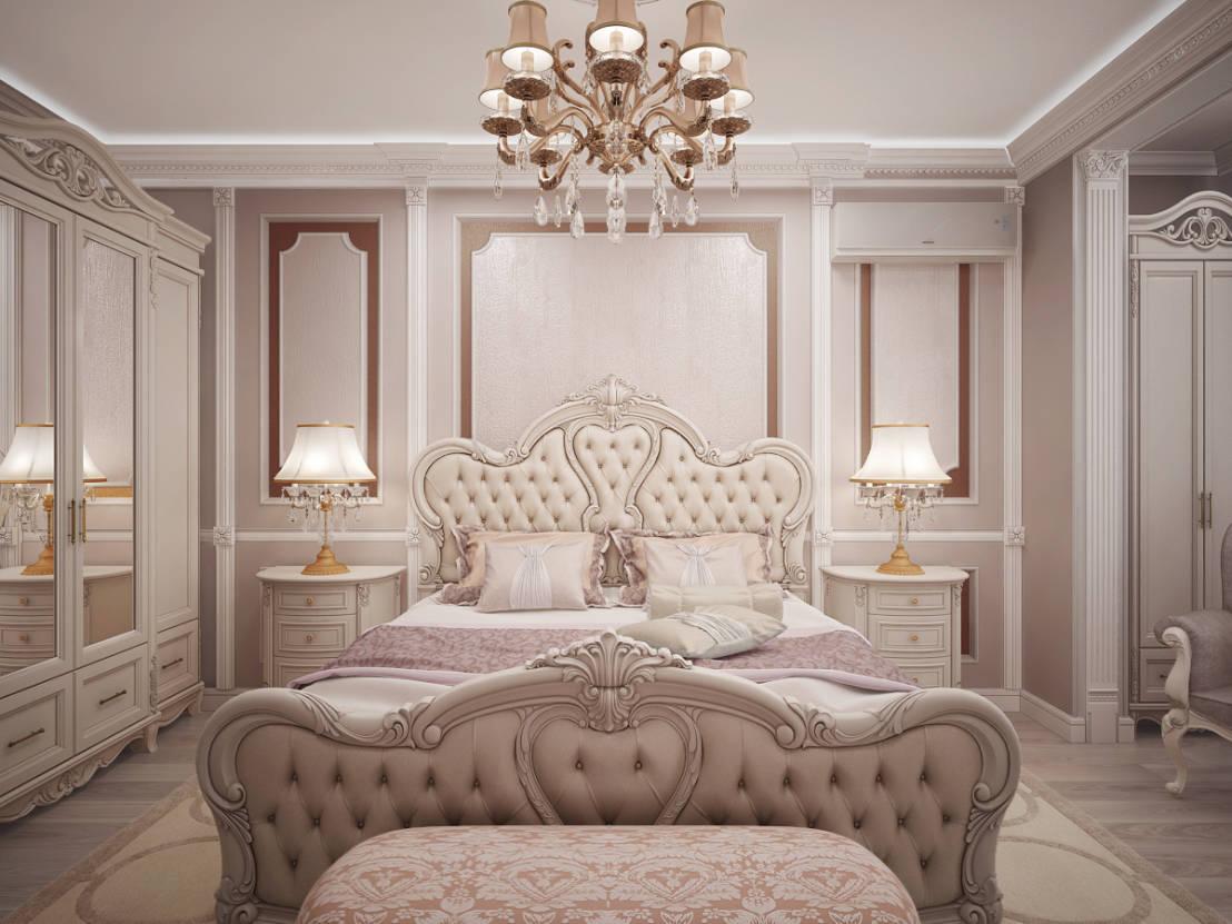 idées d'intérieur de chambre classique