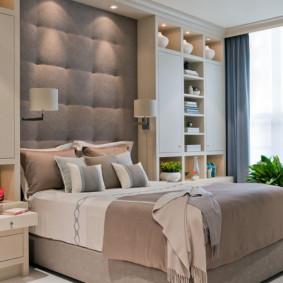 chambre à coucher 8 m² design photo