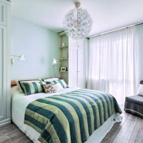chambre à coucher 8 m² photo intérieure