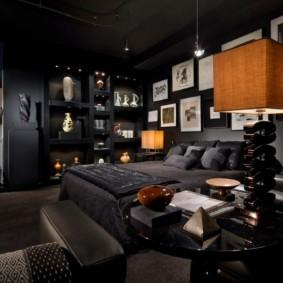 photo de conception de chambre pour hommes