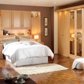 décor de chambre beige