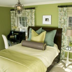 types de chambre beige photo