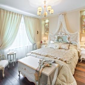 photo d'intérieur de chambre classique