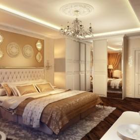 chambre de style classique