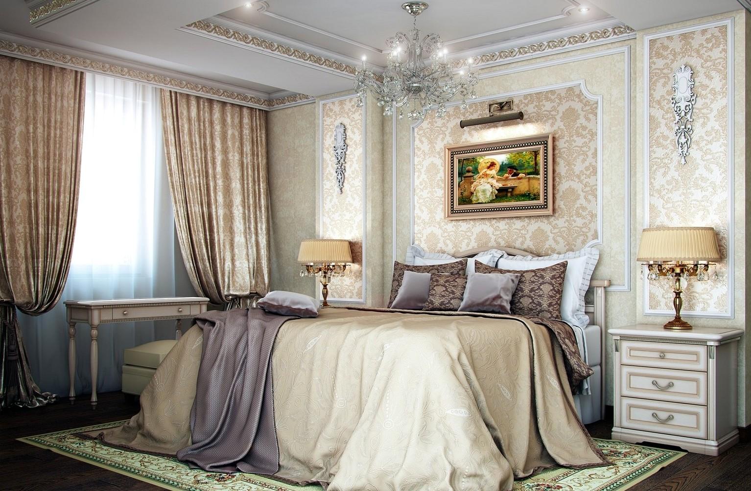 idées de décoration de chambre classique