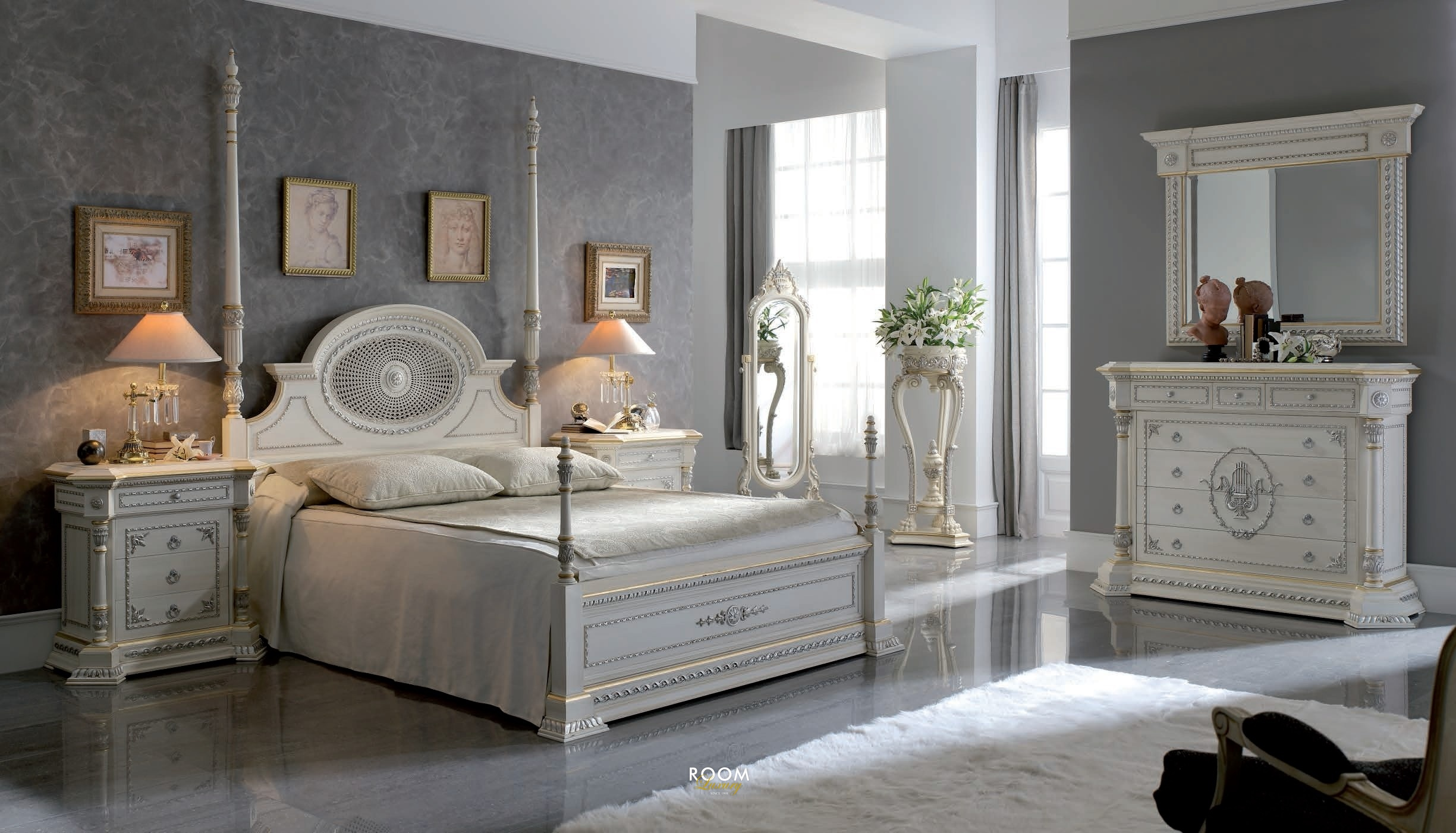 décor de chambre classique