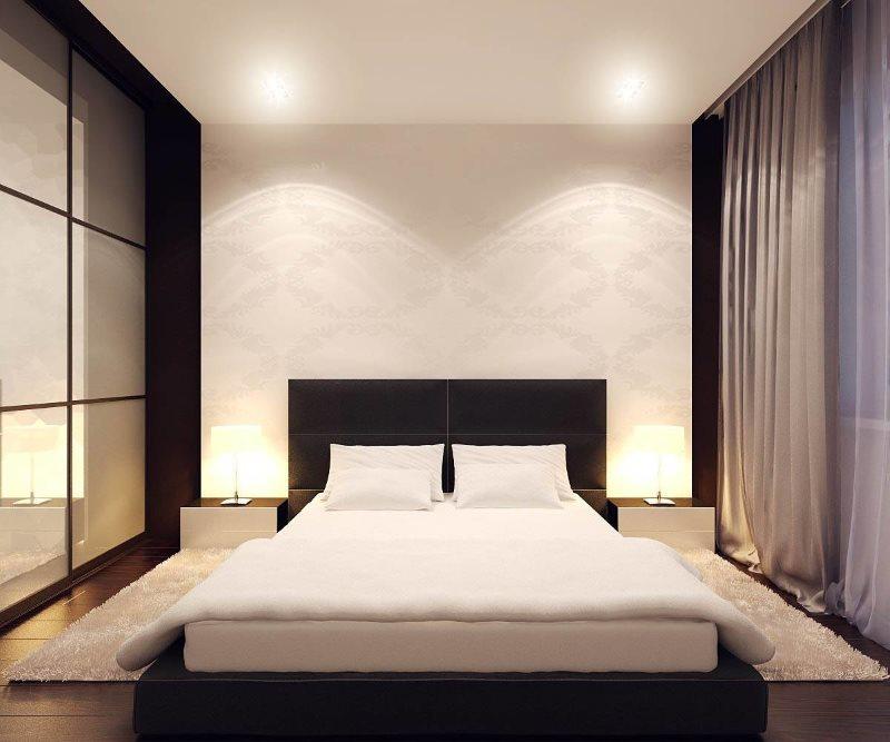 Conception de chambre minimaliste 3 par 3 mètres