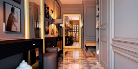 conception de couloirs étroits et longs