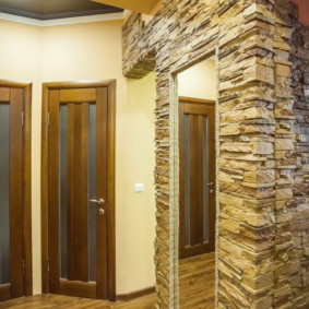 idées de décoration murale couloir