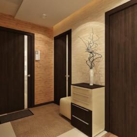 conception de photo de mur de couloir