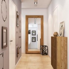 murs dans le couloir photo intérieur