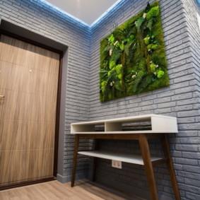 murs dans les options de photo de couloir