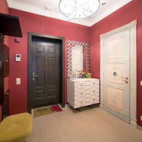 murs dans le couloir vues photo