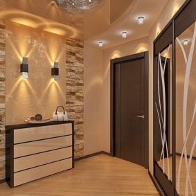murs dans les idées de couloir