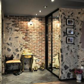 murs dans le couloir idées intérieures