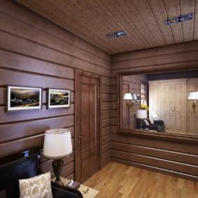 murs dans les idées de conception de couloir