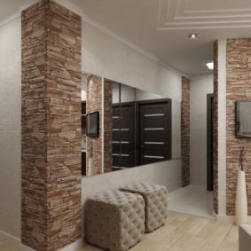 murs dans le couloir voir des idées