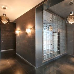 murs dans la conception de photo de couloir